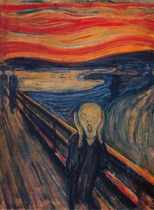 '' O Expressionismo de Edvard Munch - (1863 - 1944)''